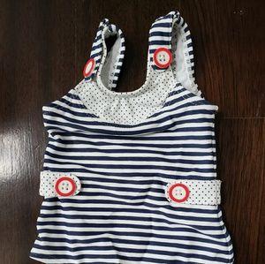 Janie and Jack Baby one-piece swim suit